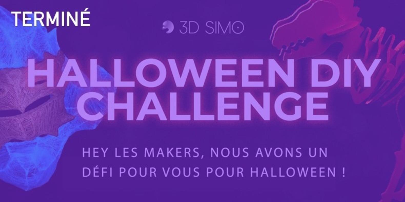 Hey les makers, Halloween est proche et nous avons un défi pour vous !