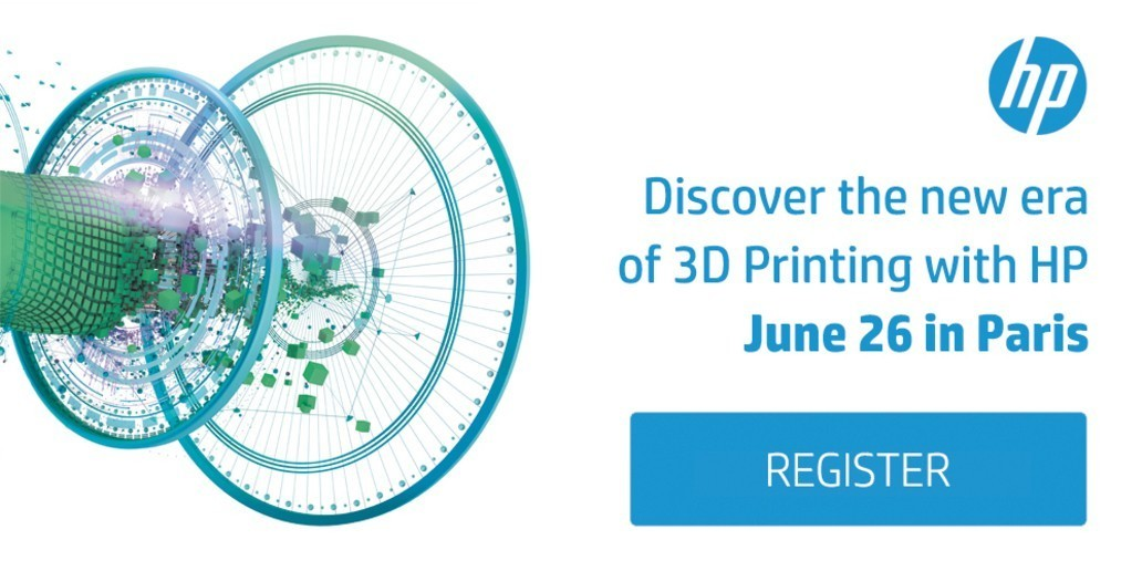 Ad U2022 HP U2022 Invitation To Discover The Reinvented 3D Printing