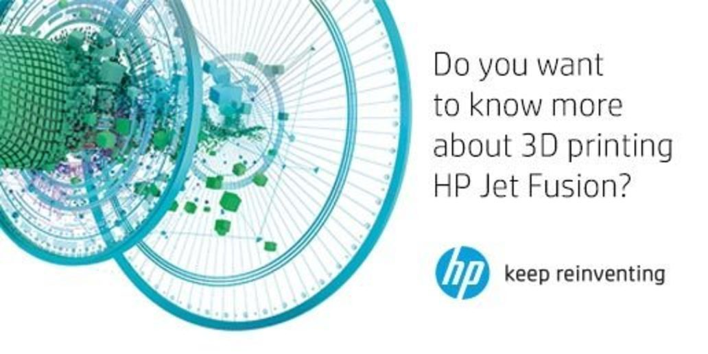 Ad • HP • Discover 3D Printing by HP Jet Fusion