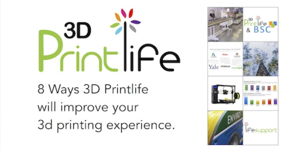 Ad • 3D Printlife • Producer of innovative & eco-friendly 3D printer filaments