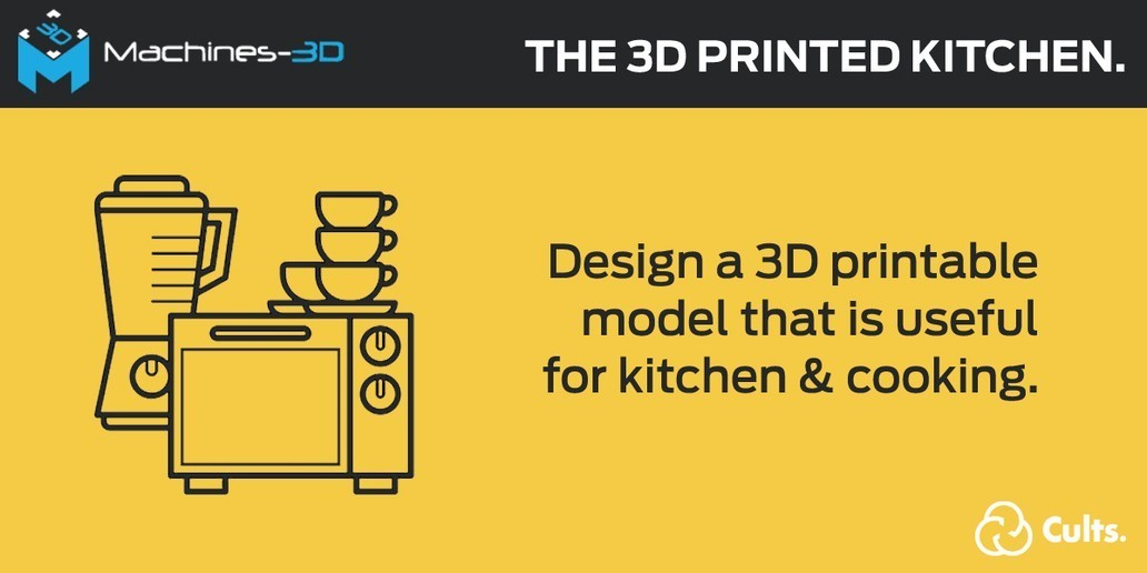 Challenge • The 3D printed kitchen