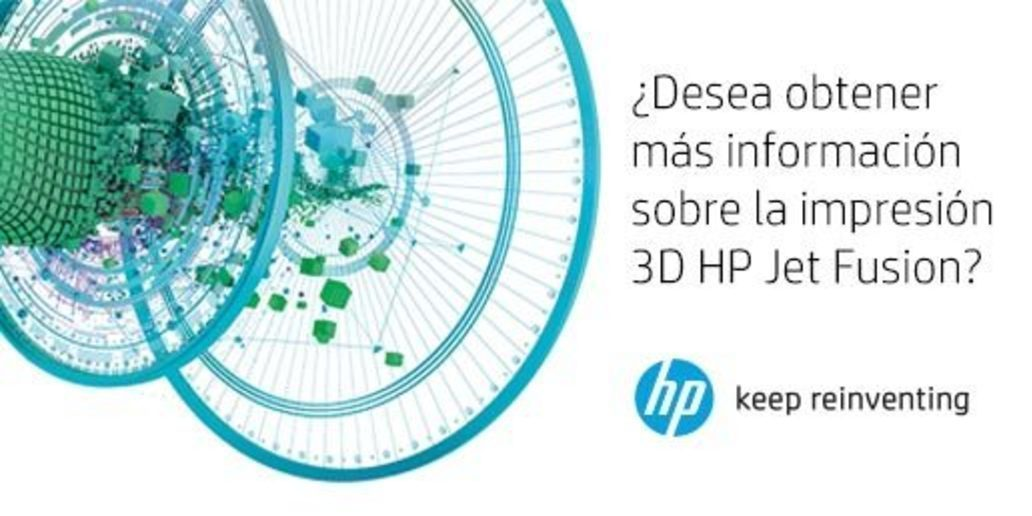 Anuncio • HP • Descubra la impresión en 3D HP Jet Fusion