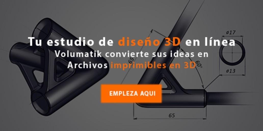 Pub • Volumatik • El primer estudio de diseño en línea preparado para la impresión 3D