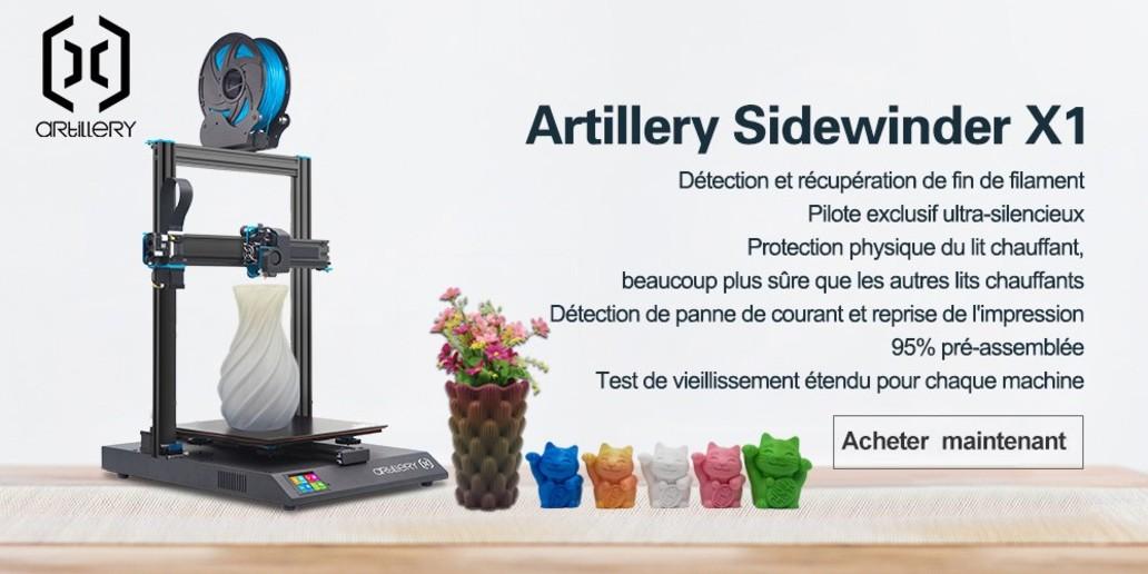 PUB • Découvrez Artillery 3D : la meilleure imprimante 3D à prix abordable