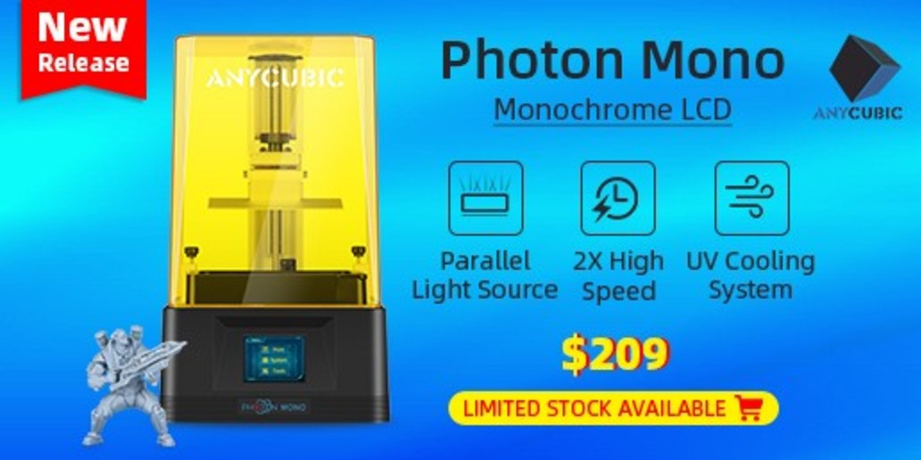 PUB • Anycubic • Achetez une imprimante 3D Photon au meilleur prix