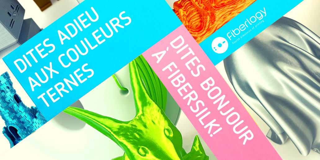 PUB • FIBERLOGY • LE MEILLEUR CHOIX POUR VOTRE IMPRIMANTE 3D