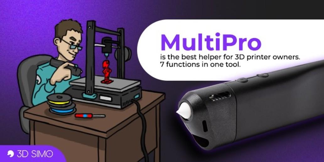 PUB • 3Dsimo • Le stylo 3D le plus polyvalent du monde