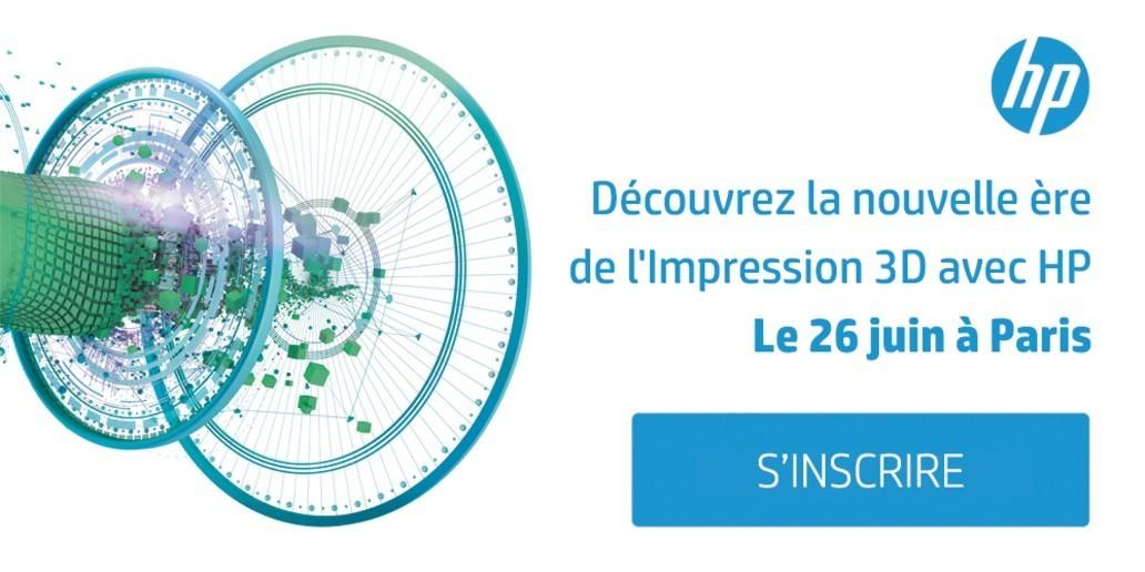 Pub • HP • Invitation pour découvrir l'Impression 3D réinventée