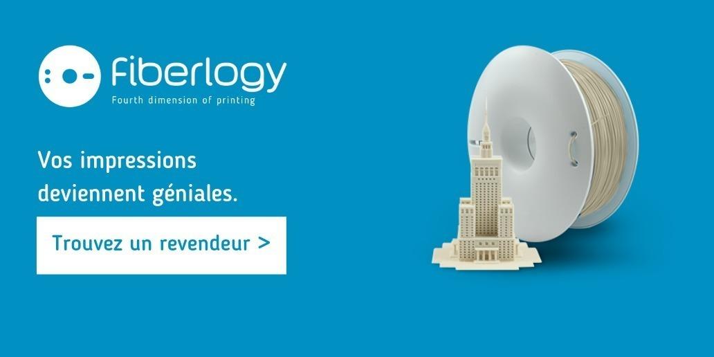 Filaments Fiberlogy • Qualité supérieure pour l'impression 3D. Trouvez votre distributeur le plus proche.