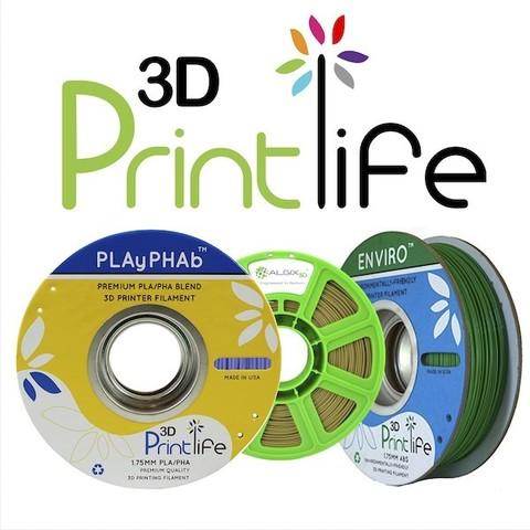 3d printlife eco-friendly filaments