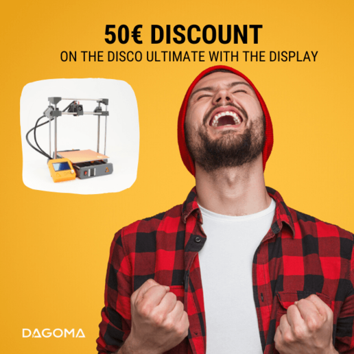 Dagoma DiscoEasy200 3D printer