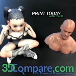 3DCompare, el mejor precio para la fabricación bajo demanda