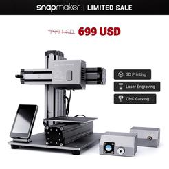 100$ USD - para la impresora 3d 3-in-1 snapmaker