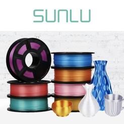 Filamento para la impresora 3D Sunlu