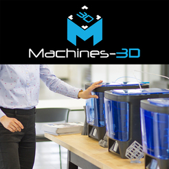 Imprimantes 3D Zortrax, Makerbot, pp3dp Tiertime, Liquid Crystal, Chocedge, Mass Portal & Zmorph