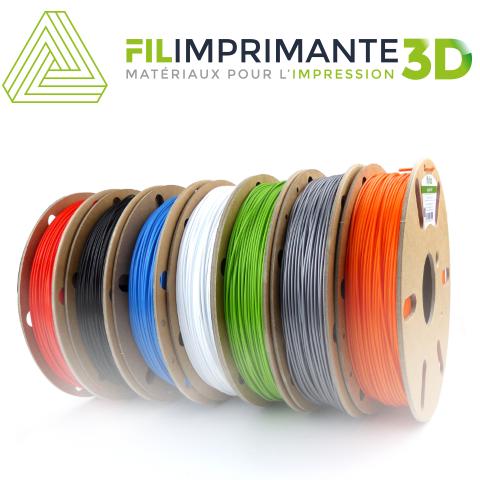 Filament pour impression 3D Verbatim, Fiberology, OWA, Innofil, Ninjatek