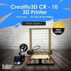 Imprimante 3D Creality3D CR