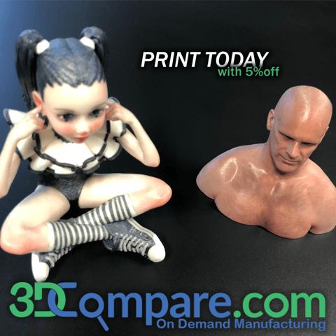 3DCompare, le meilleur prix pour la fabrication à la demande