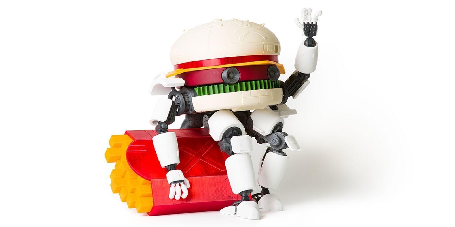 3d print file mechDonalds, guardian of the fries