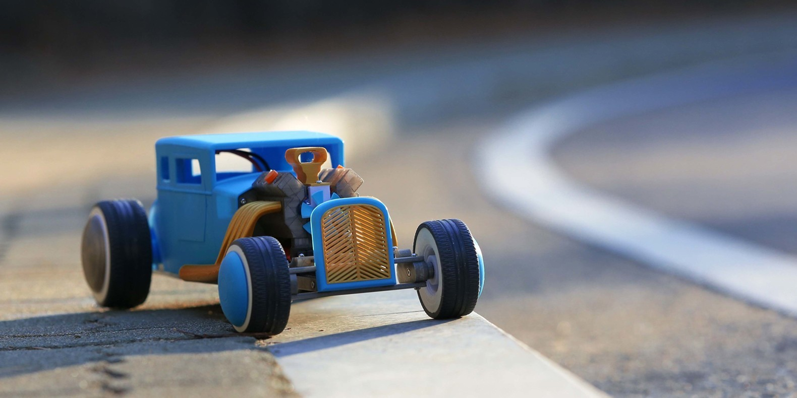 3d print file of a remote controlled hot rod