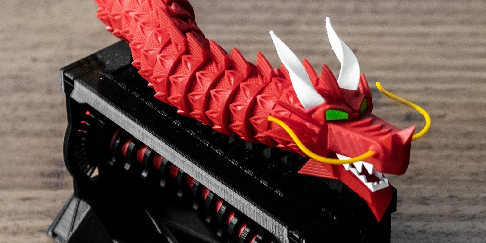 3d print file animated dragon