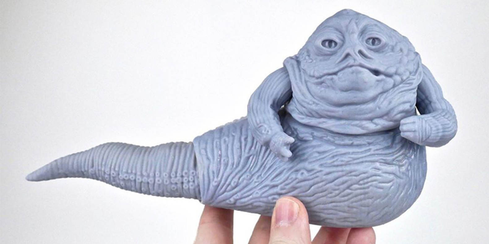 3D print STL file vintage Kenner Jabba the Hutt figure